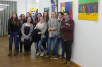 ART EXHIBITION des BORG KREMS in der Musikschule Krems
